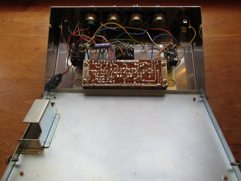 Vintage Roland Af 100 Bee Baa Fuzz Treble Booster Andy Wolf