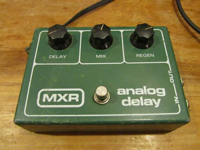 Vintage Mxr Analog Delay Model 118 Andy Wolf