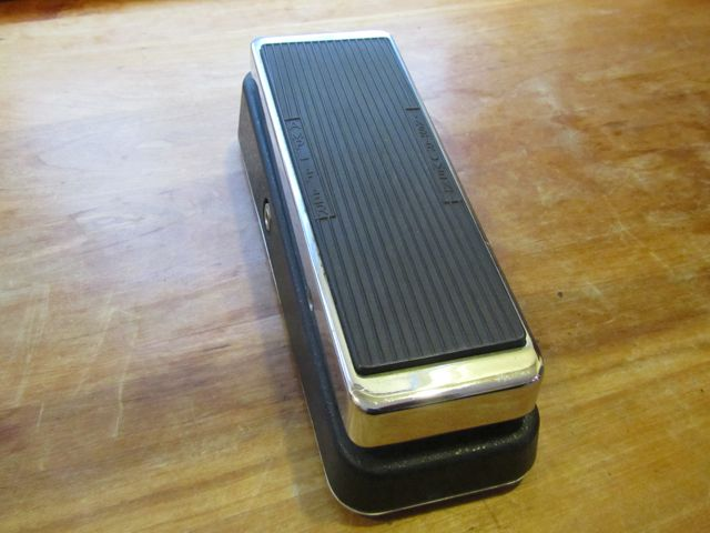 Vintage King Vox Wah Pedal Andy Wolf