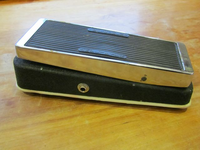 Vintage Jen Italy Vox Wah Swell Pedal Andy Wolf