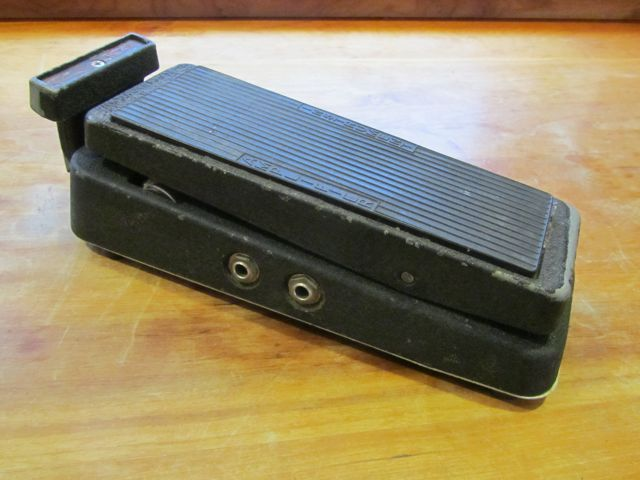 Vintage Crybaby Stereo Fuzz Wah Andy Wolf