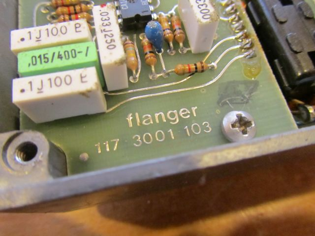 Vintage Late 70 S Mxr Flanger Andy Wolf